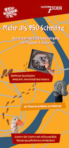 Stadtspaziergang Flyer Cover