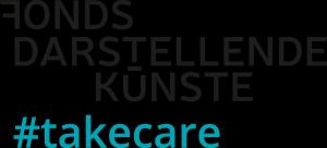 Logo: Fonds Darstellende Künste #takecare